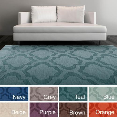 Surya Carpet Inc Hand Woven Ali Tone On Moroccan Trellis