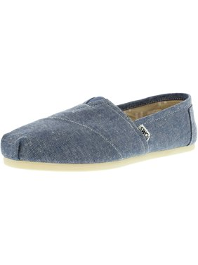 a943fce303e Product Image Toms Women s Classic Slub Chambray Blue Ankle-High Canvas  Flat Shoe - 6.5M
