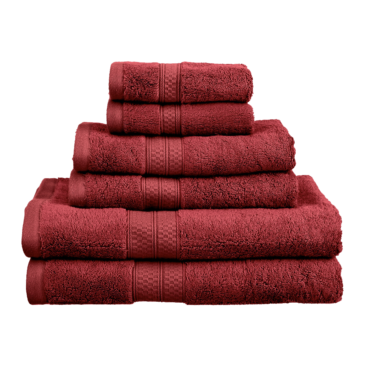 Superior 650GSM Rayon From Bamboo 6-Piece Towel Set