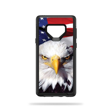 MightySkins Skin For OtterBox Symmetry Galaxy Note 9 - America Strong | Protective, Durable, and Unique Vinyl Decal wrap cover | Easy To Apply, Remove, and Change Styles | Made in the USA