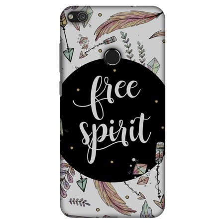 Huawei P8 Lite 2017 Case, Premium Handcrafted Printed Designer Hard ShockProof Case Back Cover for Huawei P8 Lite 2017, Huawei GR3 2017 - The Free Spirit