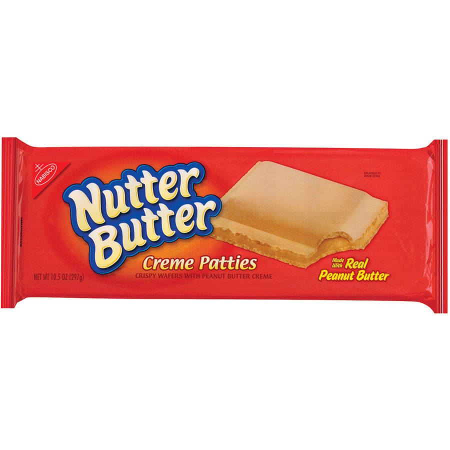 Nabisco Nutter Butter Creme Patties with Real Peanut Butter, 10.5 oz