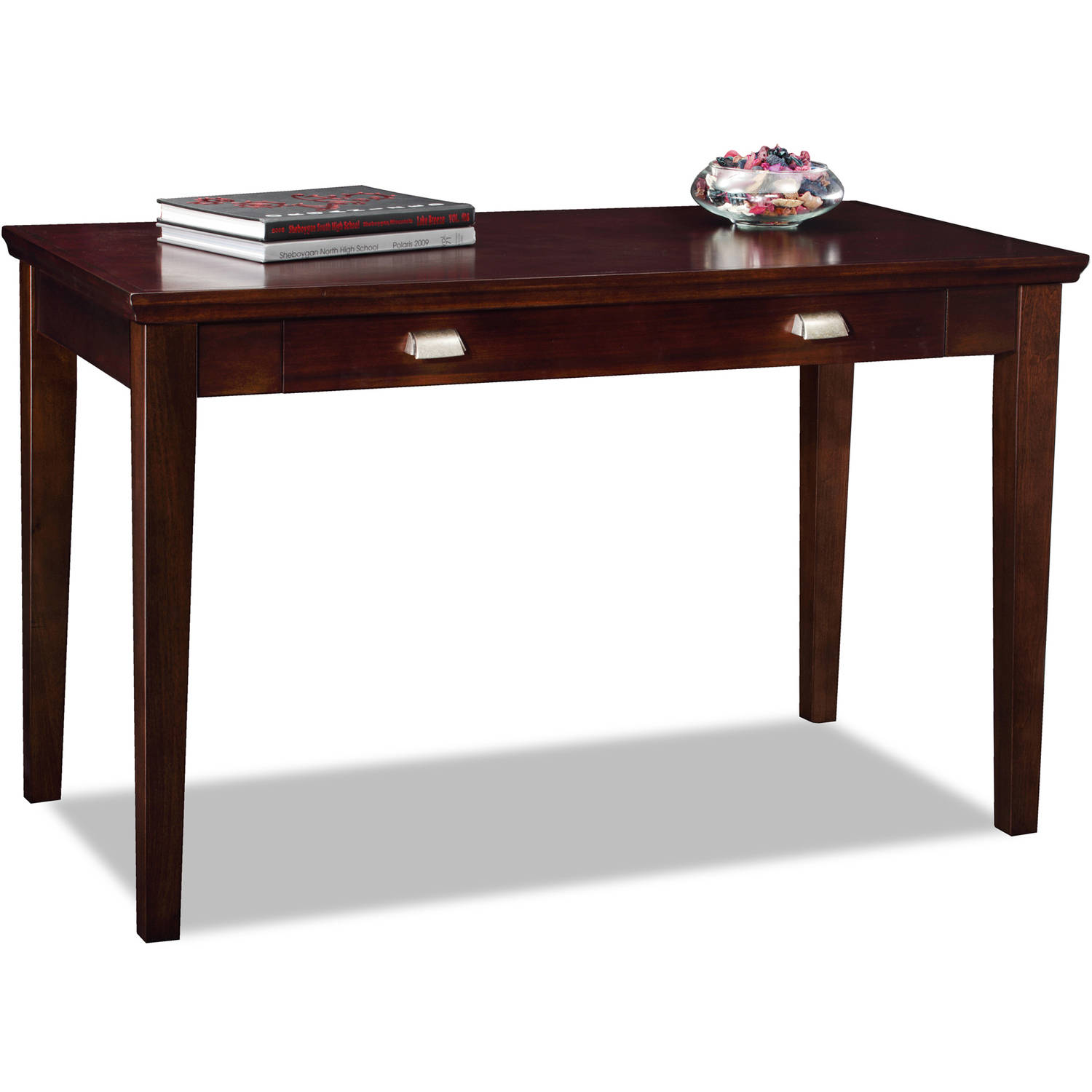 Leick Home Chocolate Cherry Laptop Desk