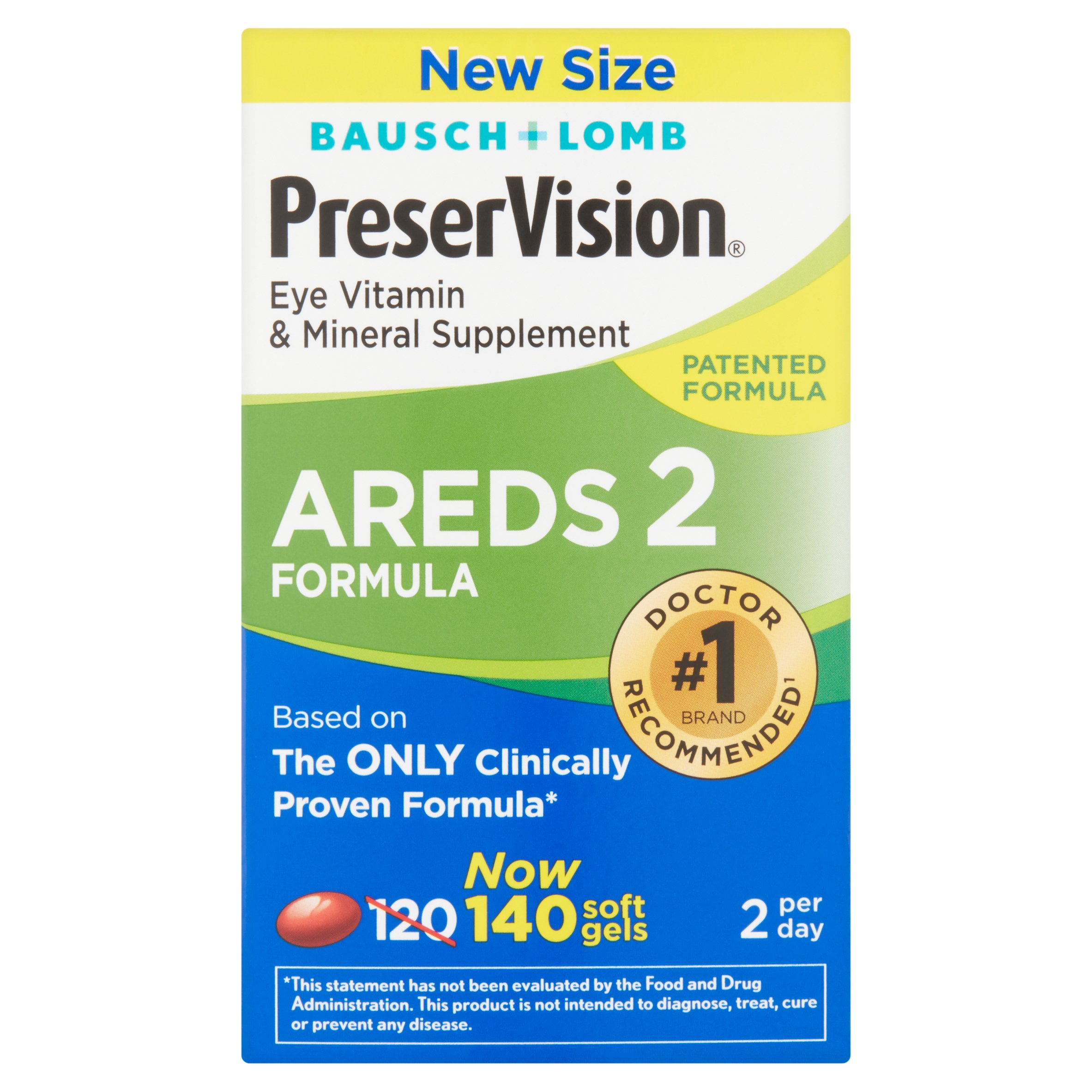 Preservision AREDS 2 Formula Softgels, 140 count - Walmart.com at Walmart - Vision Center in Connersville, IN | Tuggl
