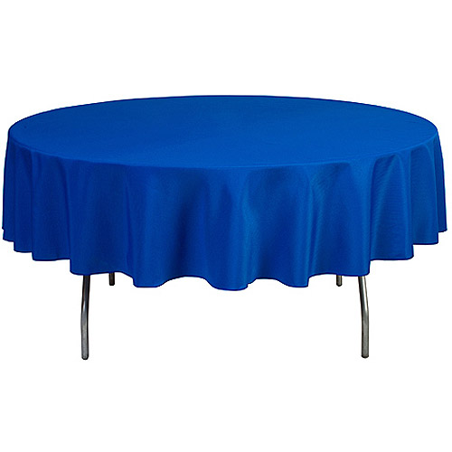 "Round 90"" Polyester Tablecloth"