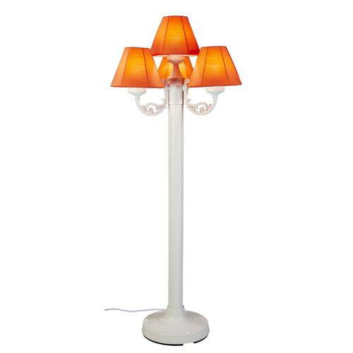 Patio Living Concepts Versailles Outdoor Floor Lamp With Sunbrella