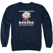 Family Guy Douche The Night Away Mens Crewneck Sweatshirt