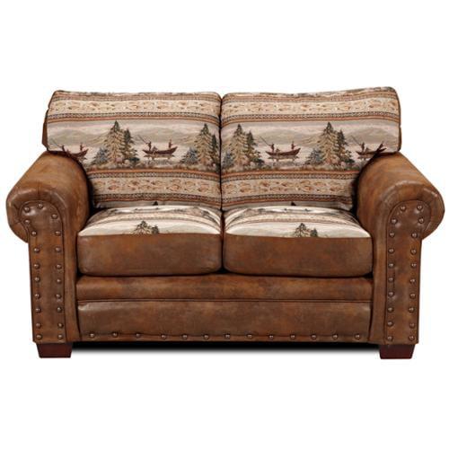 American Furniture Classics Alpine Lodge Loveseat
