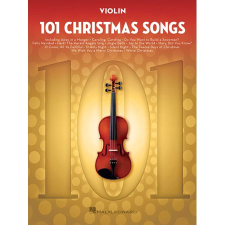 101 Christmas Songs: For Violin (Paperback) ()