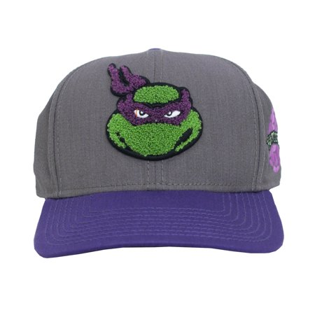 Donatello Teenage Mutant Ninja Turtles Patch Adult Snapback Baseball Cap - Capes For Adults