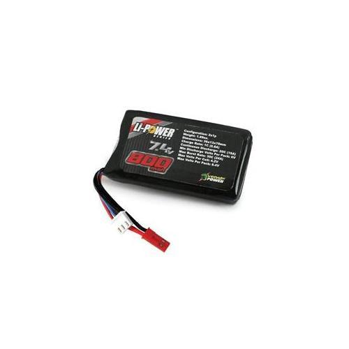 Venom 20C 800Mah 7. 4V 2S Lipo Battery with Jst- VEN15003