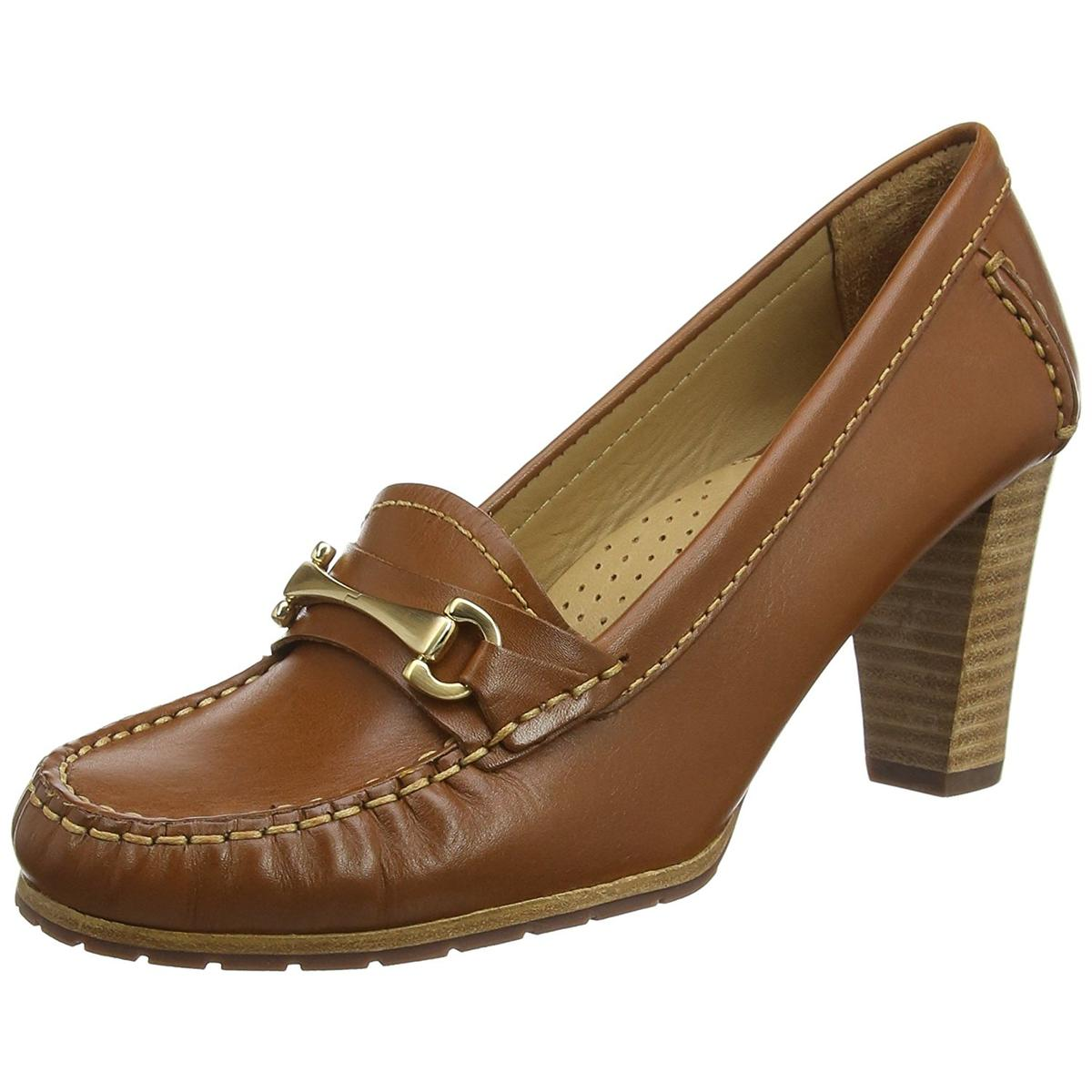 Hush Puppies Castana Womens Cognac Heels by Hush Puppies