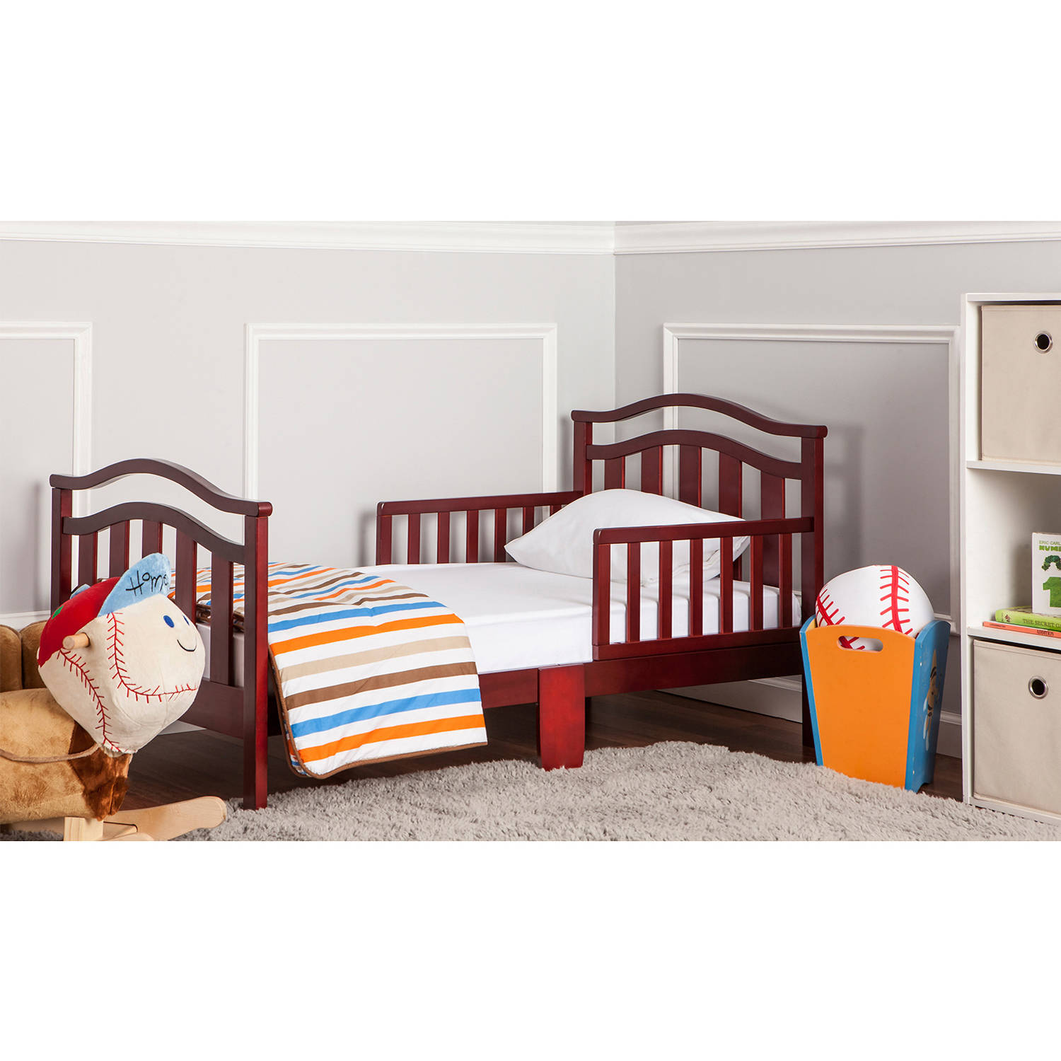 Dream On Me Elora Collection Toddler Bed, (Choose Your Color)