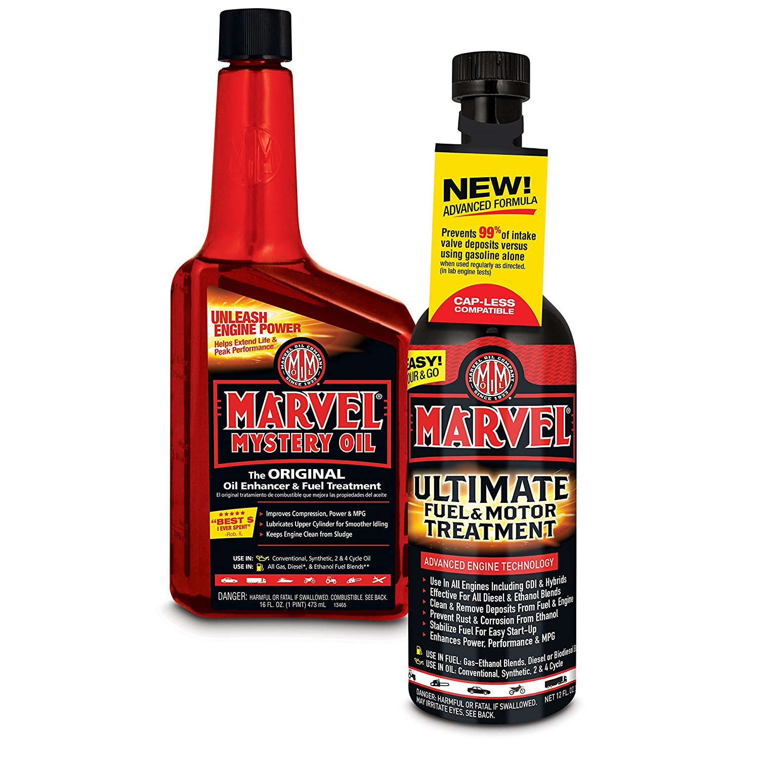 (3 Pack) Marvel Mystery Oil Classic & Marvel Ultimate Fuel & Motor Treatment