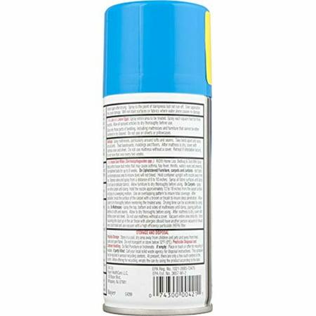 4 Pack RID Step 3 Home Lice, Bedbug & Dust Mite Spray 5 oz (141.8 g)