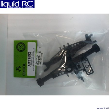 Axial Solid Axle Housing Front and Rear: AR44 SCX10 II, AXIC1592