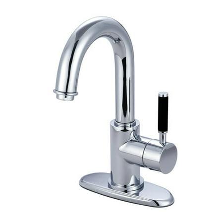 Kingston Brass Vilbosch Bathroom Faucet with Push Pop Up Drain