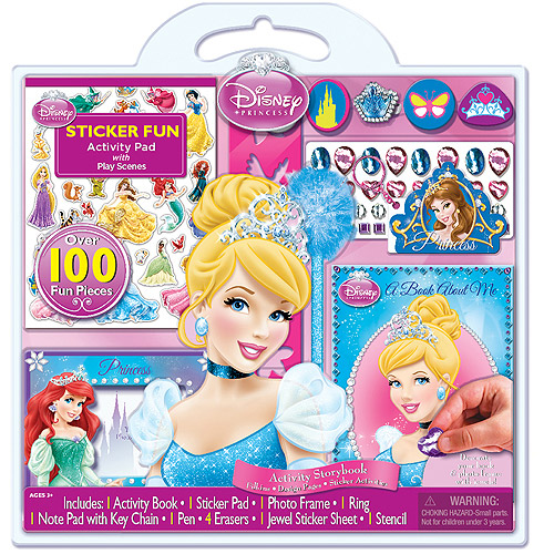 Disney Princess 100-Piece Activity Set