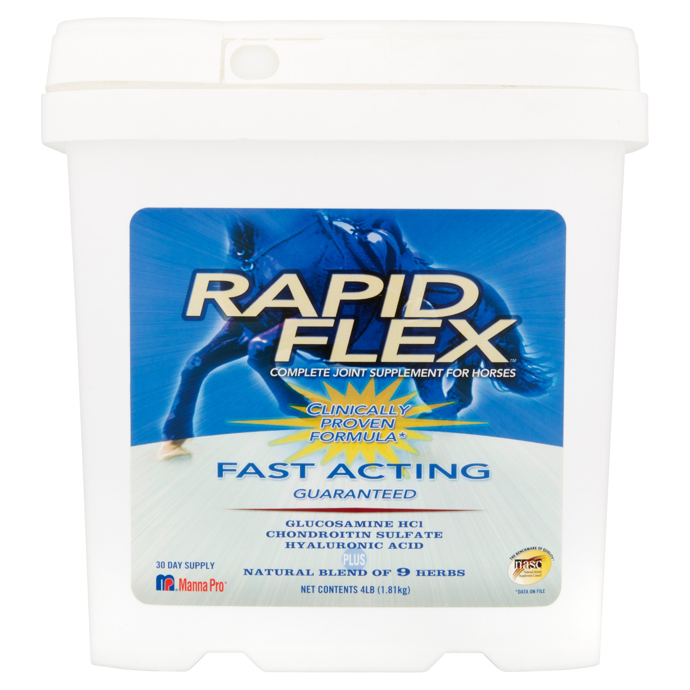 Manna Pro Rapid Flex Complete Joint Supplement for Heroes, 4 lb