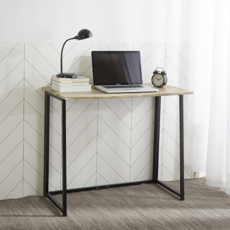 Astounding Urban Shop Wood Metal Student Desk Multiple Colors Home Remodeling Inspirations Basidirectenergyitoicom
