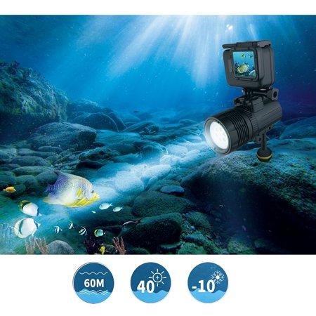 Lampe de poche sous-marine SHOOT XTGP460 Lampe de poche sous-marine torche de plongée de 1 500 lumens étanche 60m - image 5 of 7