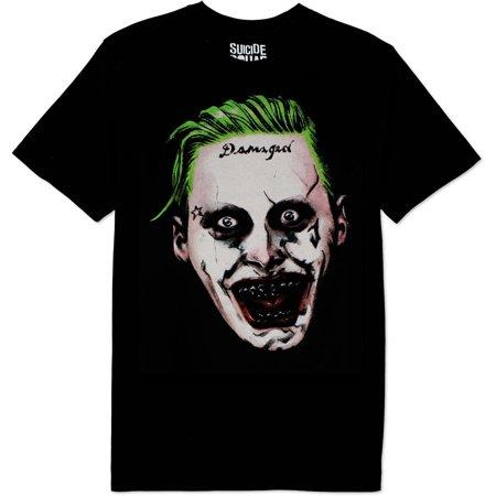 Suicide Squad Joker Face Shirt (New Joker Face)