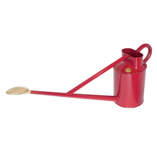 Haws 3.2-Gallon Professional Burgundy Metal Outdoor Watering Can by HAWS CORPORATION