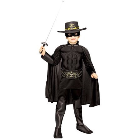 Zorro Muscle Chest Deluxe Costume - Zorro Costume Women