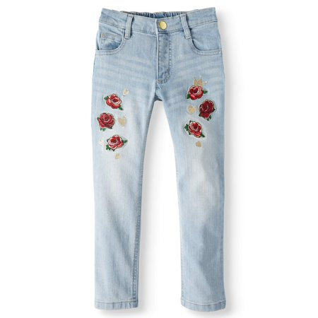 365 Kids From Garanimals Floral Embroidered Jean (Little Girls & Big Girls) Mossimo Kids Jeans