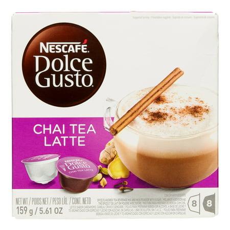 Nescafe Dolce Gusto Chai Tea Capsules, 16 Count
