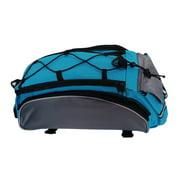 Outdoor Sports Bicycle Bag Multifunctional 13L Bike Tail Rear Bag Saddle Cycling Bicicleta Basket Rack Trunk Bag Shoulder Handbag
