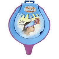 Splash Guard Lil Rinser Bath Shampoo Visor Shield Cap Hat, Blue