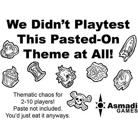 Asmadi Games We Didn't Playtest This Pasted-On Theme at All Card Game