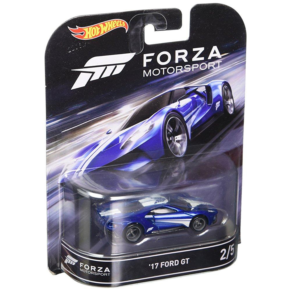 Hot Wheels Retro Entertainment Forza Motorsport  Ford Gt Blue