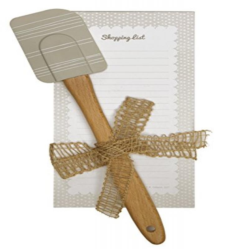 C.R. Gibson QKG2-14196 Magnetic List Pad and Spatula Gift...