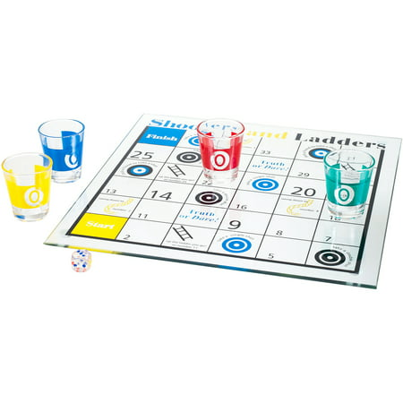Shooters and Ladders Drinking Game Set - Halloween Drinking Games Frozen