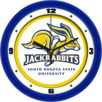 Suntime ST-CO3-SDJ-WCLOCK South Dakota State Jackrabbits-Traditional Wall Clock