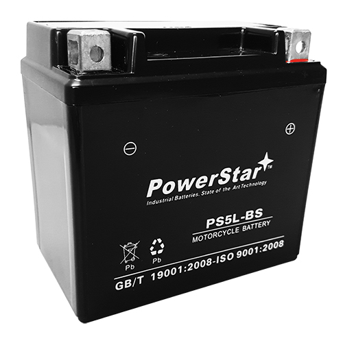 YTX5L-BS battery for HUSABERG FC470E/FX470E (Electric Start) Bikes