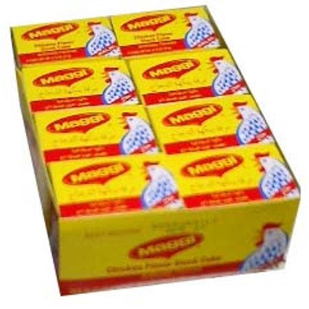Maggi Chicken Stock  Halal  Case 21G 2 Cubes X24pk