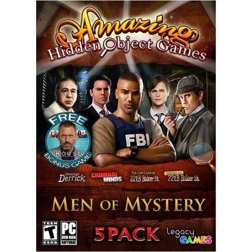 Men of Mystery Amazing Hidden Object Games