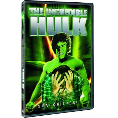 The Incredible Hulk  Season Three  Full Frame