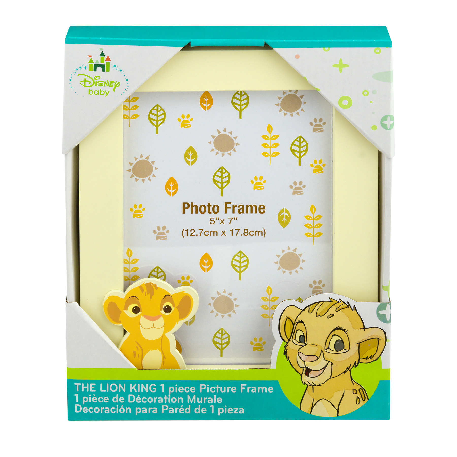 Disney Baby Picture Frame, The Lion King, 1.0 CT