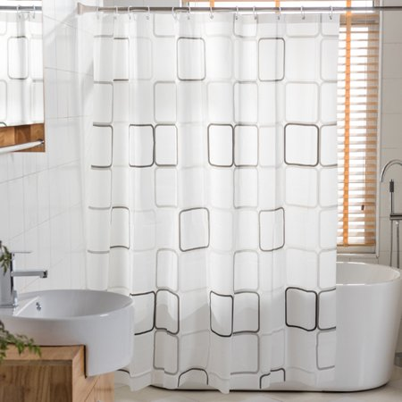 """Features:Name: Shower curtainMaterial: polyester fabric with digital printingSize:72"""" x 72""""Package Included:1 x Shower Curtain13 x Rings - image 1 of 10"""