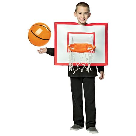 Basketball Hoop with Ball Child Halloween Costume, One Size,