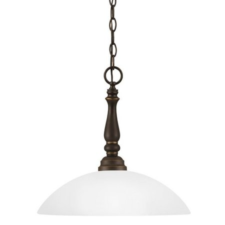 Sea Gull Lighting 6512401-191 Northbrook Bowl Pendant 1-Light (North Brook Mall)