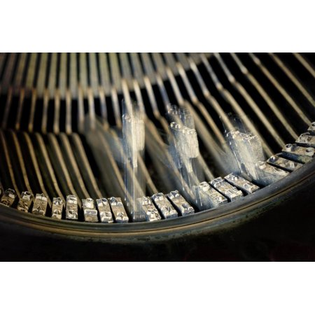 - Vintage Remington Standard Typewriter Keys, Seabeck, Washington, USA Print Wall Art By Jaynes Gallery