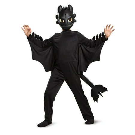 2 Person Halloween Costumes (Boy's Toothless Classic Halloween)