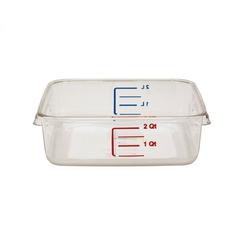 Rubbermaid Commercial Products 64 Oz. Square Storage Container