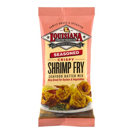 Louisiana fish fry products seafood batter mix seasoned for Fish fry mix