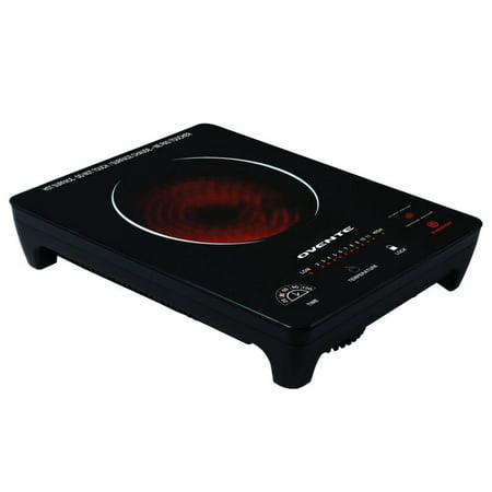 Ovente Portable Ceramic Infrared Cooktop 11.75L 14.5W 3H